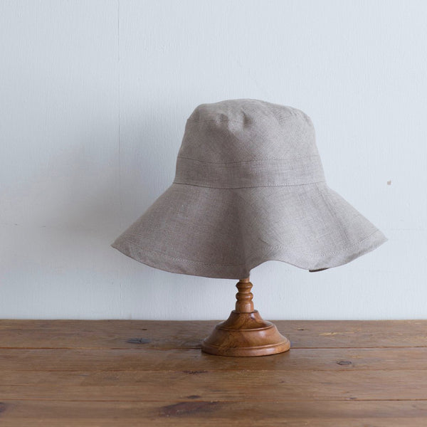 Loge Linen Hat (Natural)
