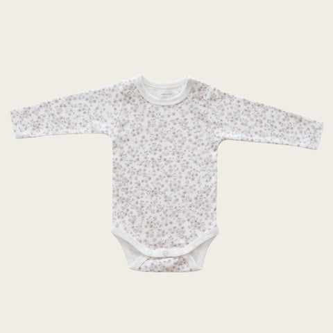 Long Sleeve Bodysuit (Posy Floral)