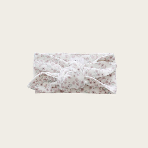 Organic Cotton Headband (Posy Floral)