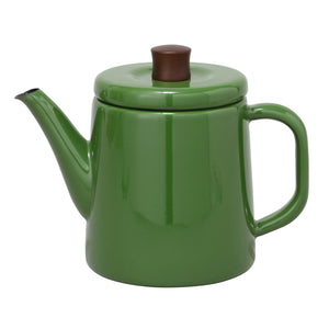Enamel Teapot / Kettle (Green)