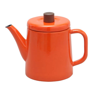 Enamel Teapot / Kettle (Orange)