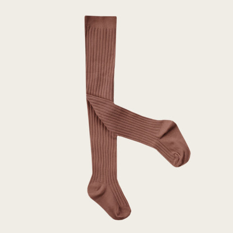 Rib Tights (Caramel)