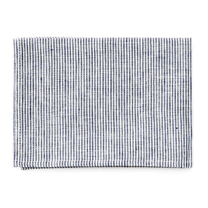 Linen Tea Towel (White Seersucker)