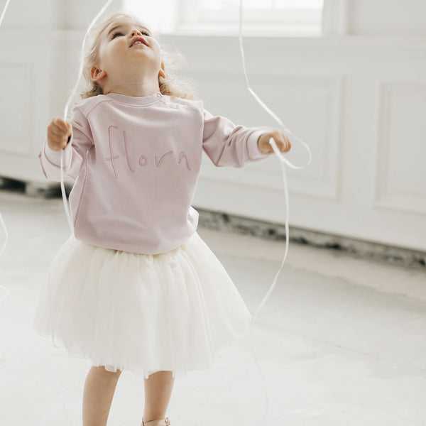 Soft Tulle Skirt (Marshmallow)