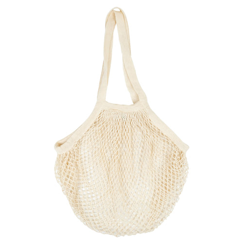 Organic Cotton String Grocery Bag (Long Handle)
