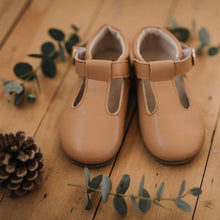 Mary Robyn T-Bar Shoes (Tan)