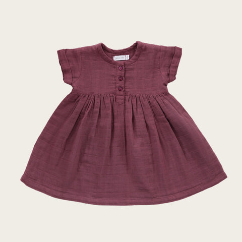 Short Sleeve Dress (Sugar Plum)