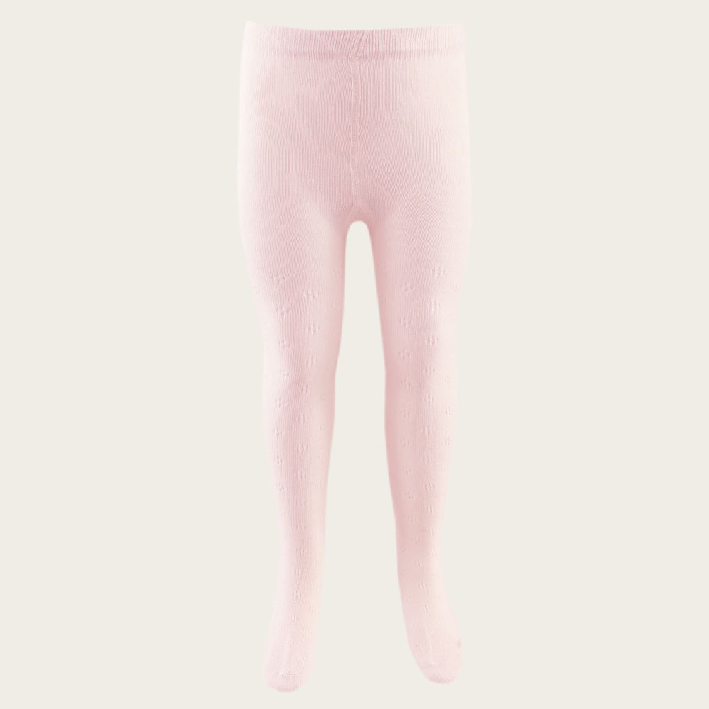 Pointelle Tights (Blush)
