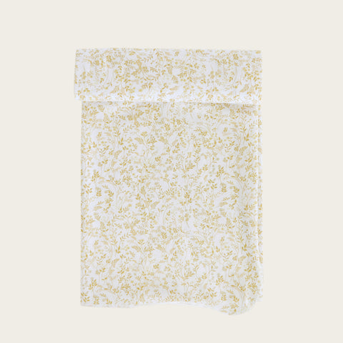 Organic Cotton Wrap Blanket (Whimsy Floral)