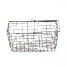 Wire Storage Basket with Handle