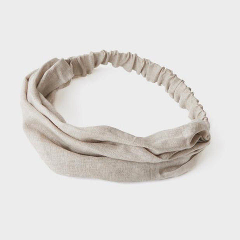 Linen Hairband (Natural)