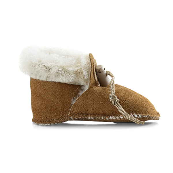 Toddler Sheepskin Split Bootee
