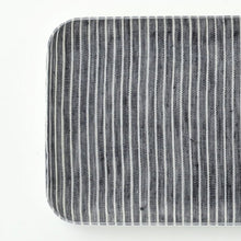 Fog Linen Small Tray (Grey & White Stripe)