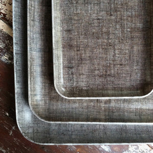 Fog Linen Medium Tray (Natural)