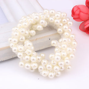 Korean Pearls Beads Hair Band