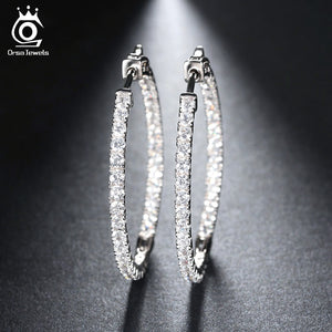 Cubic Zircon Earrings for Wedding Party Jewelry