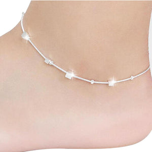 New Cube Leg Chain Foot Jewelry For Women