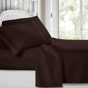KING 4 piece BED SHEET SET 1800