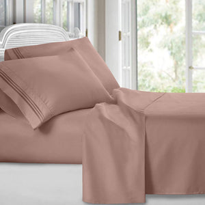 KING 4 piece BED SHEET SET 1500