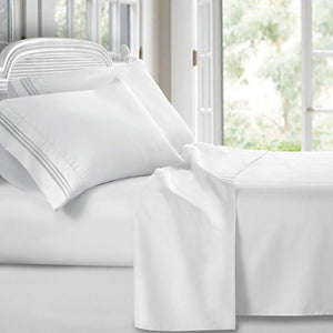 QUEEN 4 piece BED SHEET SET 1800