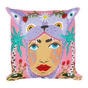 Bjork Hijoort Wolf Tears Pillow