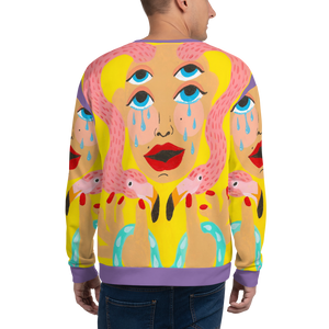 Bjork Hijoort Tears x Cry All-Over Crewneck