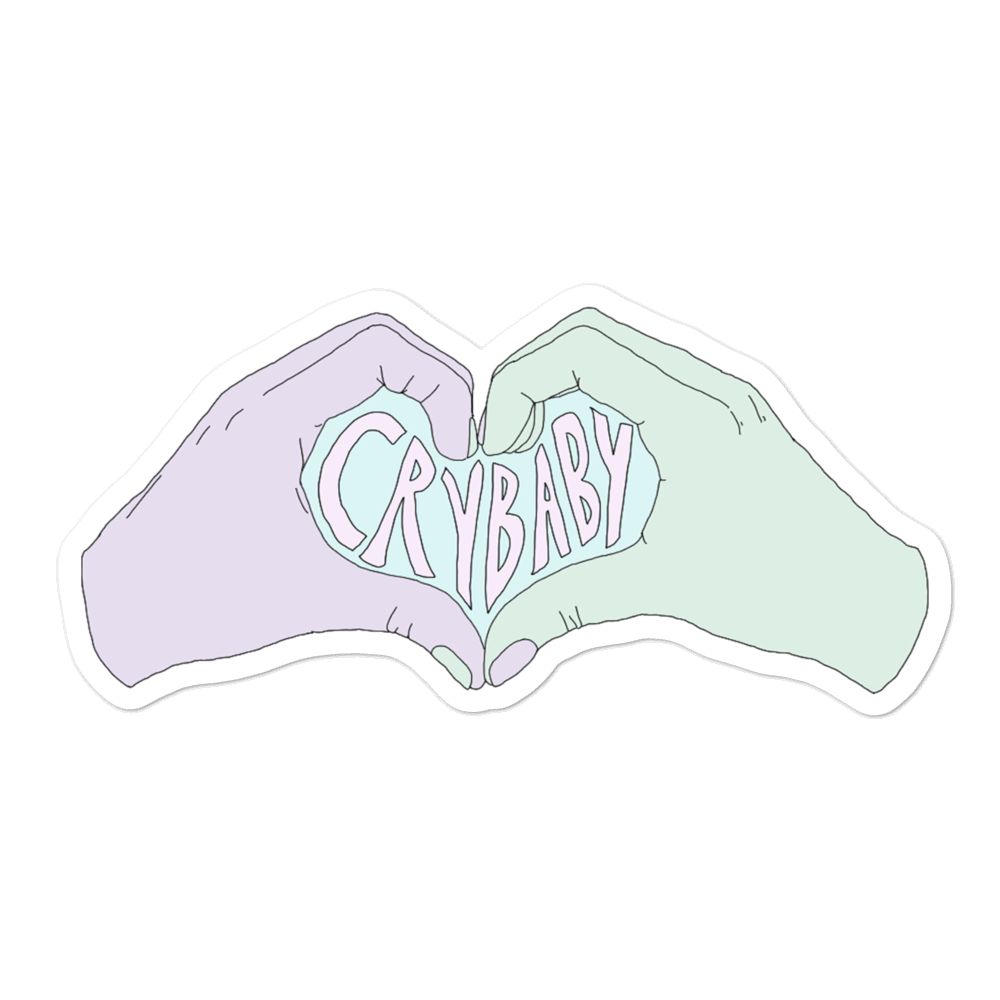 Crybaby Heart Desires Sticker