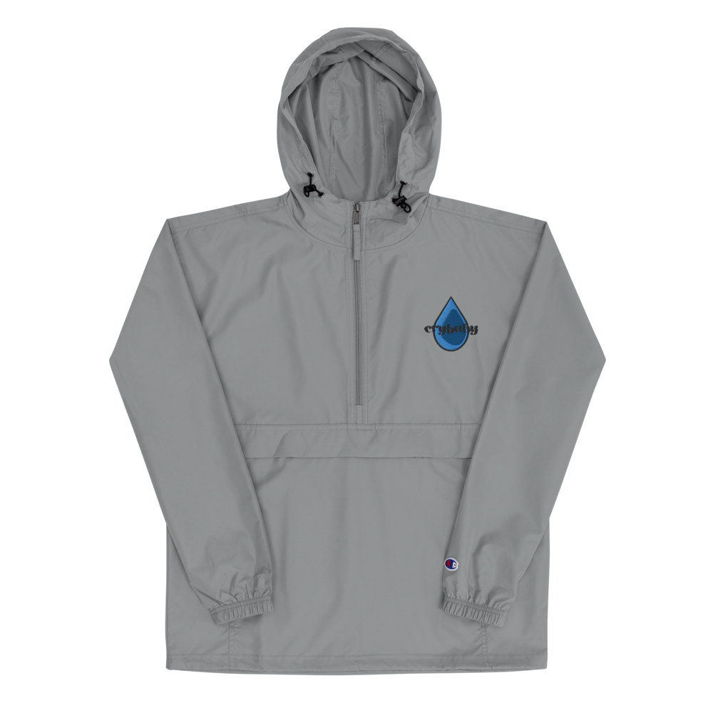 Crybaby x Champion Tear Drop Windbreaker