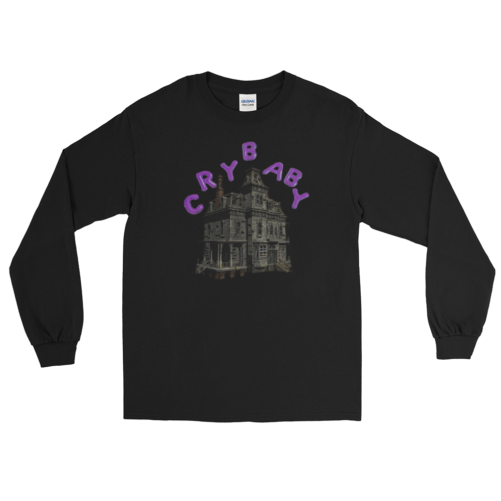 Crybaby Floating Haunted Mansion Long Sleeve T-Shirt
