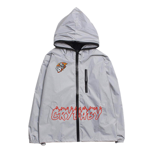 Crybaby Flying Dice 3M Reflective Jacket