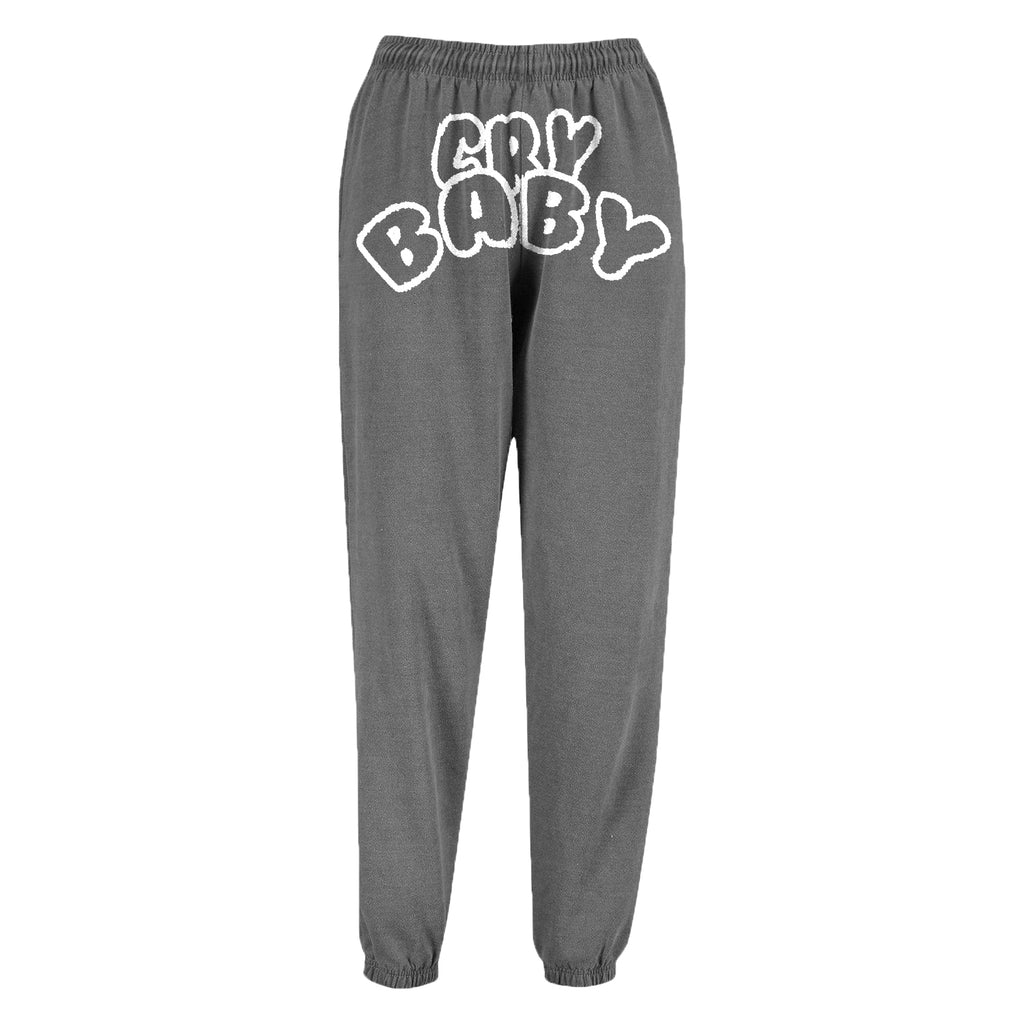 Crybaby Outline Washed Baggy Joggers