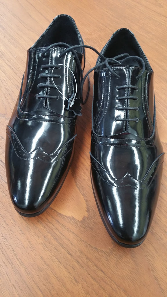 Men's Patent Leather Dance Shoes