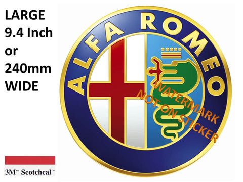 Alfa Romeo Sticker