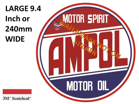 Ampol Motor Oil Sticker