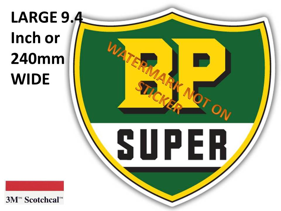 BP Super Sticker