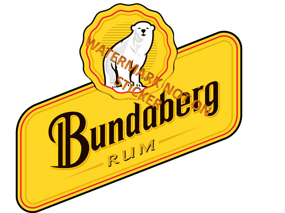 Bundaberg Rum Sticker