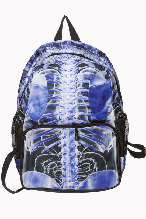 Backpack Inside Skeleton Signals satchel