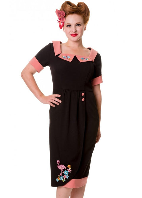 Flamingo Straight dress : Banned
