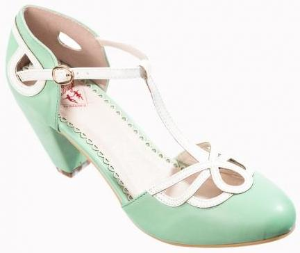 Aimee Heeled Mint
