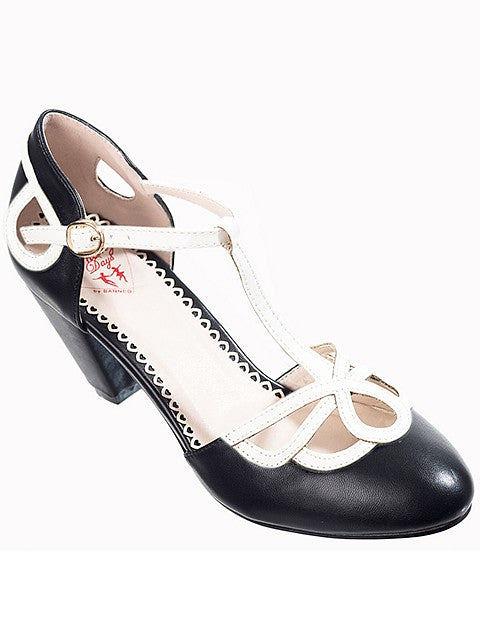 Aimee Heeled Black