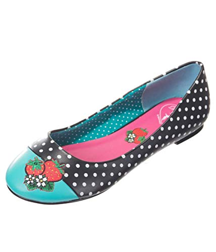 Isabella Strawberry Shoes Aqua