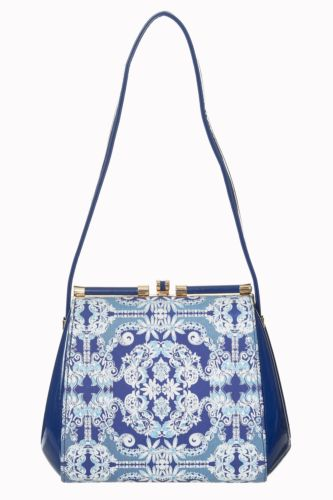 Blue or Cream Iva Bag