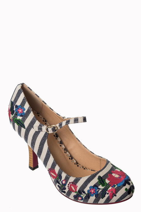 Kalocsai Nautical Heels