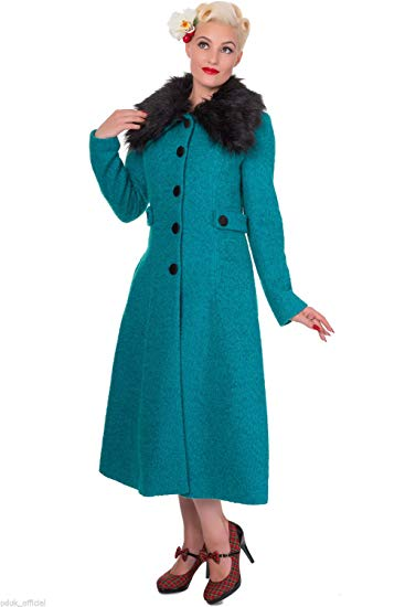 The Simple Coat 50s 40s Vintage Retro Pinup  Banned