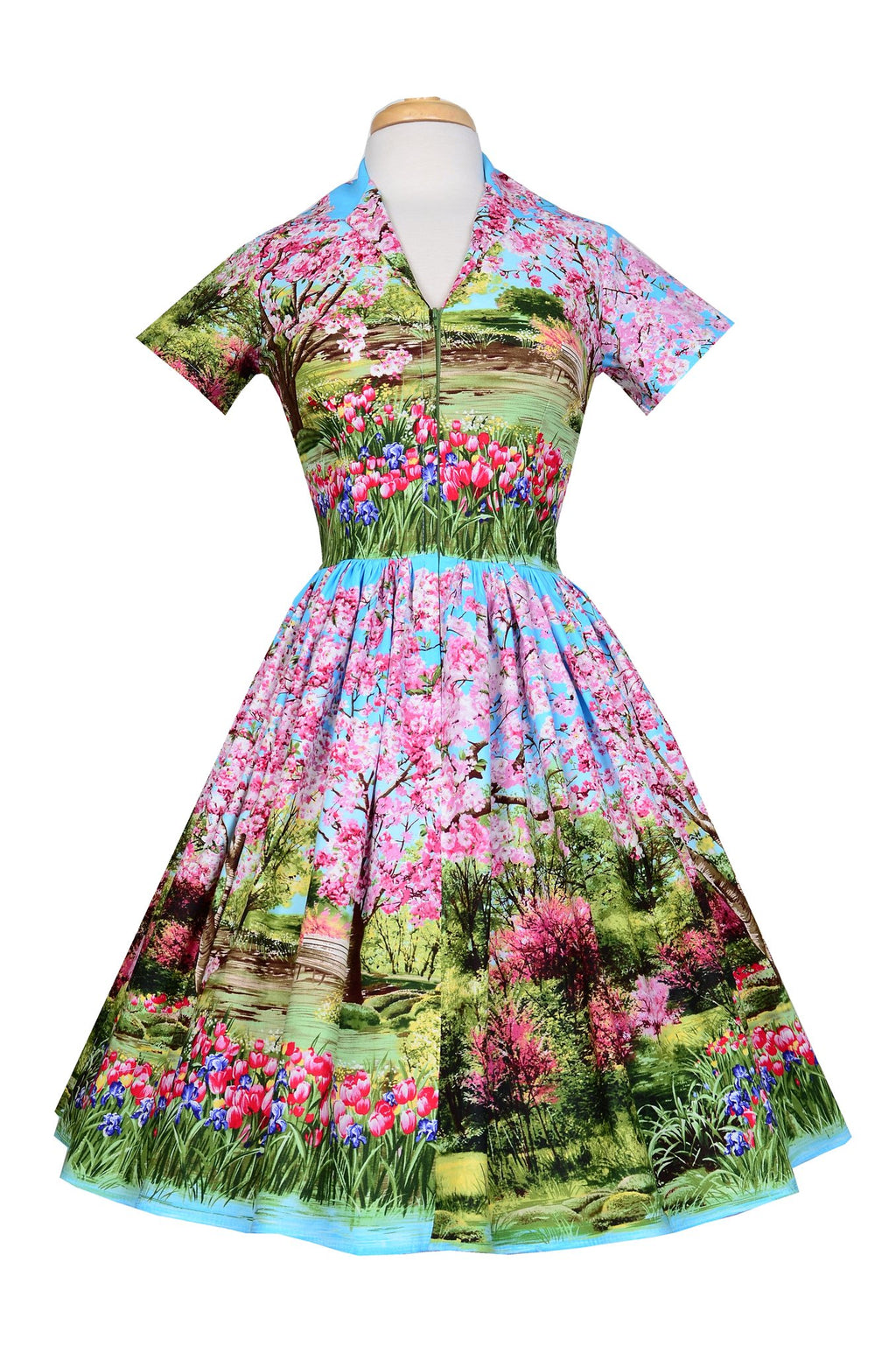 Fifi Dress in Cherry Tree Lane