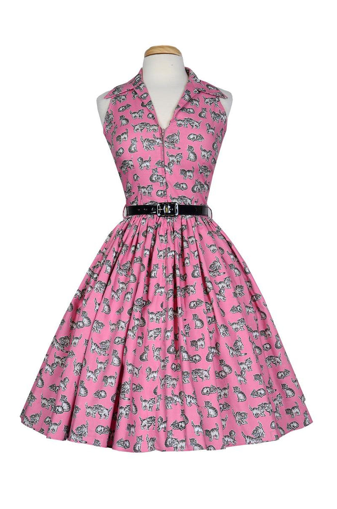 Mari Dress Pink Kitten By Bernie Dexter