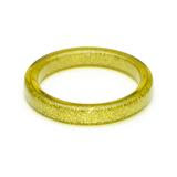 Chartreuse Glitter Bangle