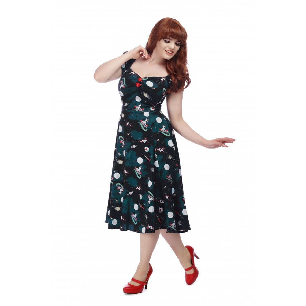 Dolores Space pin up doll Dress by Collectif