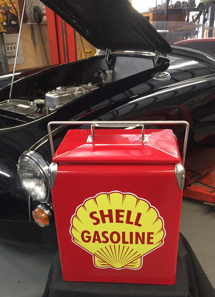 Shell Gasoline  Retro Cooler