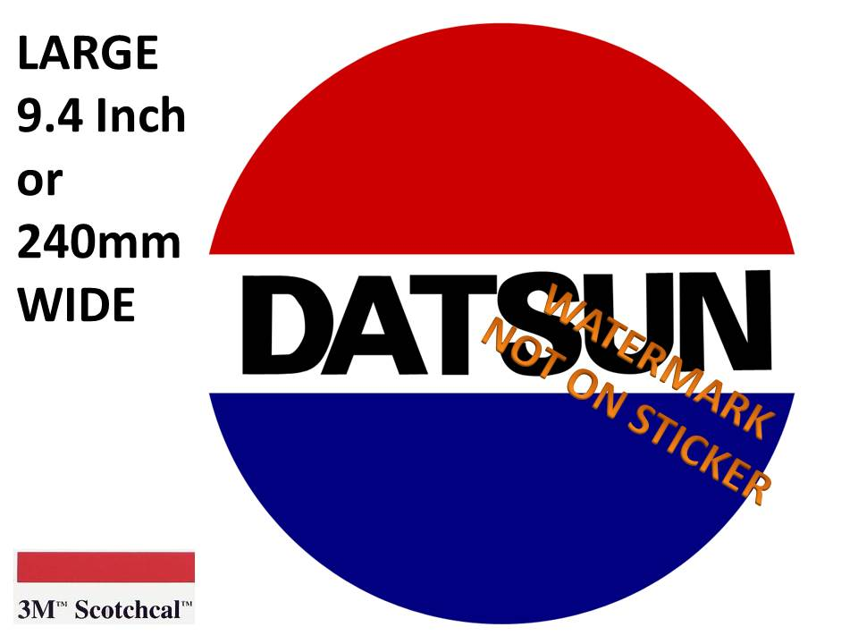 Datsun Sticker